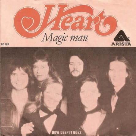Heart – Magic Man (7″, Single)